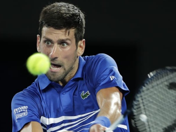 Djokovic survives scare and top seed double rout against Medvedev
