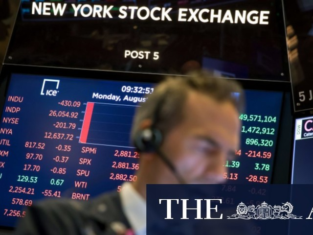 Nasdaq in correction territory as Fed chief rattles Wall Street