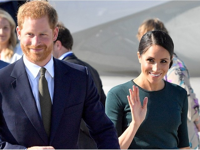 Meghan Markle's Sophisticated Green Outfit Is Perfect For the Woman on the Go