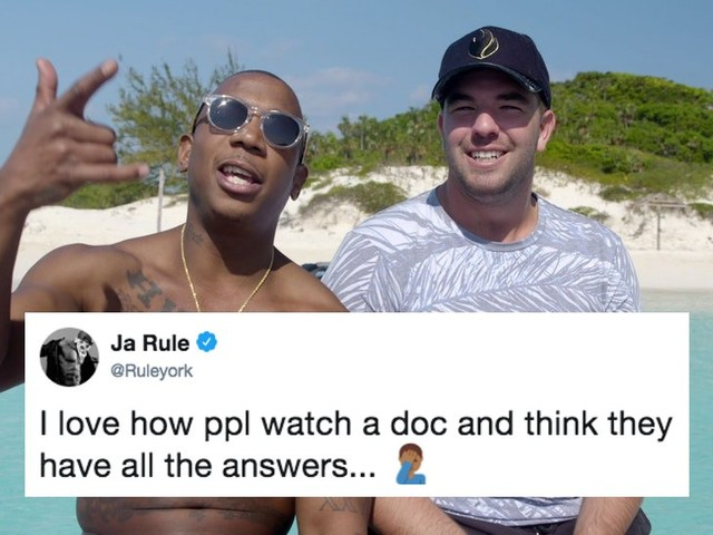 Ja Rule Hits Back At The Internet Over Netflix & Hulu's Fyre Festival Documentaries