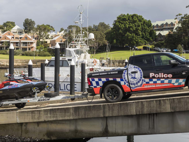 NSW Police Marine Search And Rescue takes delivery of Ram 1500 Crew Cab