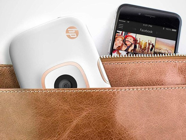 Party like it's 1999 with an HP Sprocket 2-in-1 printer and camera for just $55 - CNET