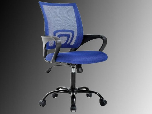 Get more serious about working from home with this $55 ergonomic mesh office chair - CNET