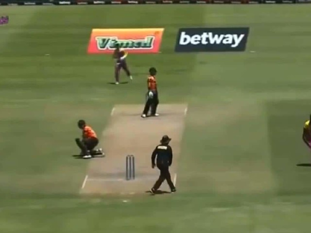 WATCH: Bowler invokes spirit of cricket after opting against run out