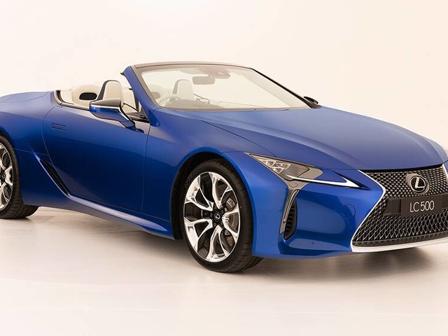 2021 Lexus LC Convertible pricing and specs detailed: Coupe gets soft-top sibling to really take it to BMW 8 Series