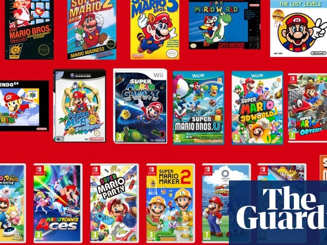Super Mario at 35: Mario's makers on Nintendo's most enduring mascot