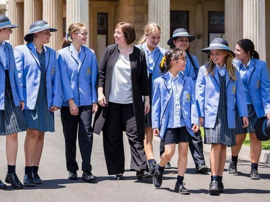 Private schools resisting push to allow girls to wear pants
