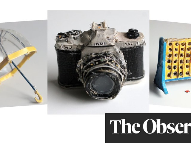 Everyday objects sculpted from scraps – in pictures