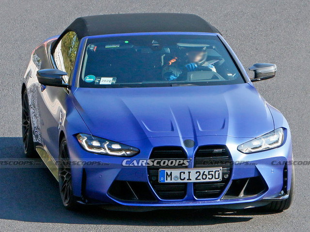 This Is Our Best Look Yet At The New 2021 BMW M4 Convertible