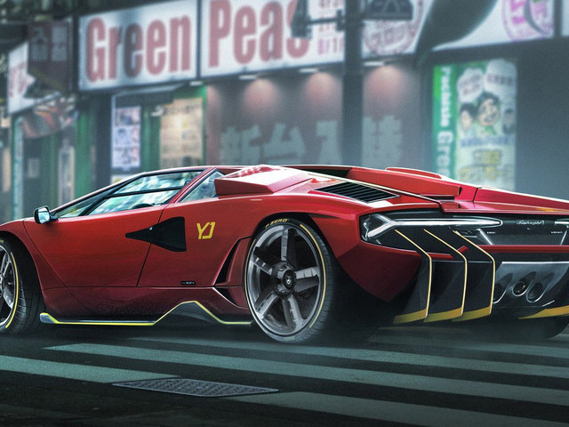 Lamborghini Countach/Centenario Mashup Would Be The Best Frankencar Project Ever