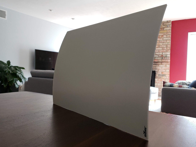 Mohu Curve 50 TV antenna review: Pretty, but not powerful
