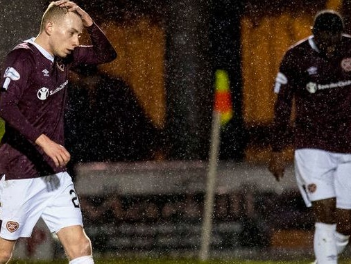 Hearts warn players their wages will be suspended if they refuse 50 per cent pay cut