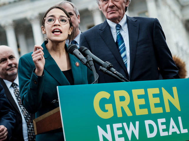 Green New Deal is a first step towards eco-revolution