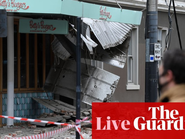 Victoria earthquake live updates: reports of damage in Melbourne after tremor felt across south-east Australia