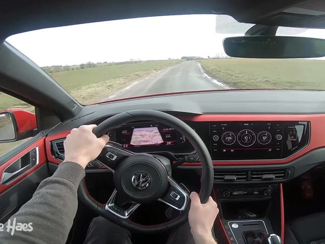 All-New VW Polo GTI Looks Super Fun From The Driver's Seat