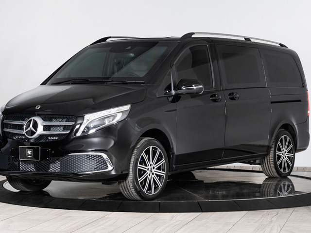 This Heavily Armored Mercedes-Benz V-Class Will Protect You From Grenades
