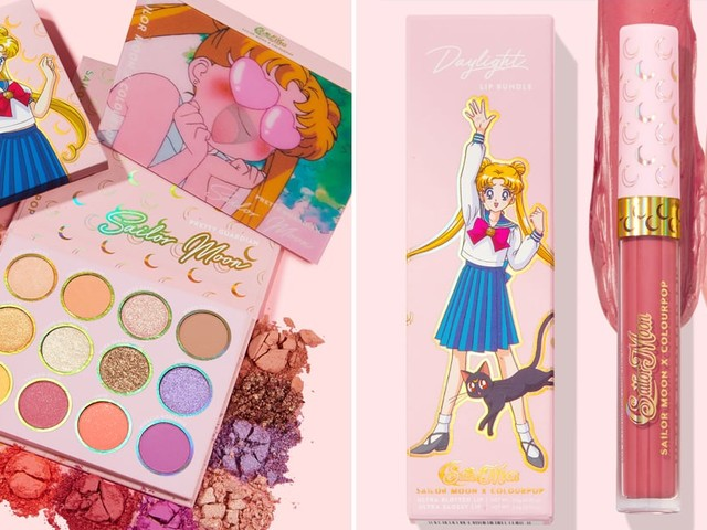 ColourPop's Glittery Sailor Moon Collection Is Infused With Sparkling Stars and Mini Moons