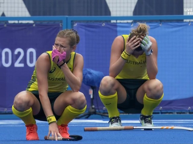 Tears in Tokyo as Hockeyroos sent home against massive underdogs India