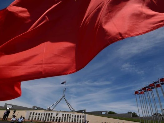 Australia struggling to contain Chinese political interference, US warns