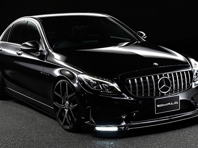 Wald Wants To Turn Your Mercedes C-Class Into An AMG C63 Lookalike