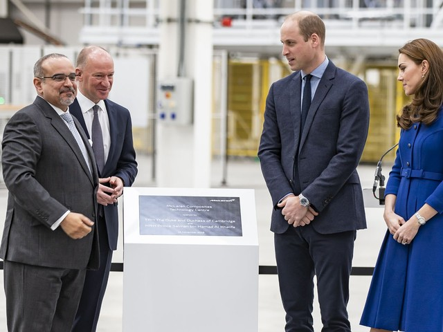 There's Nothing Like A Supercar Factory Opening To Bring Royalty Together