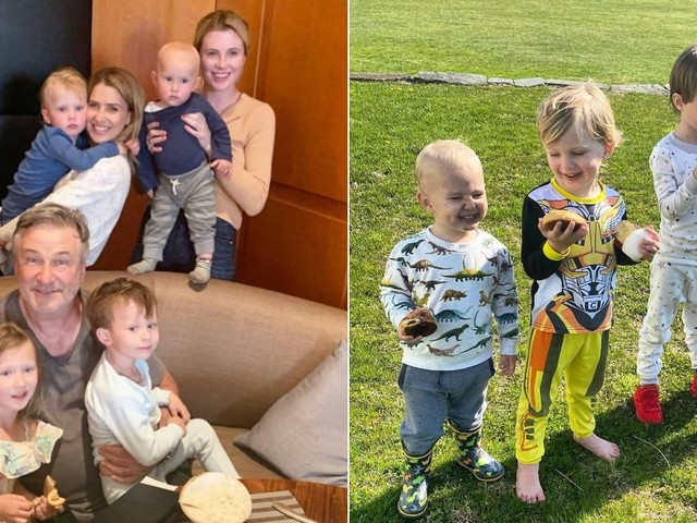 Alec and Hilaria Baldwin Share 4 Kids Under the Age of 6 - Meet Them All Before Baby No. 5 Comes!