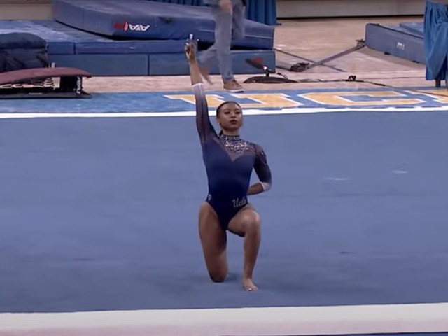 Nia Dennis's Floor Routine Is 1 Big Dance Party - and It Pays Tribute to Black Culture