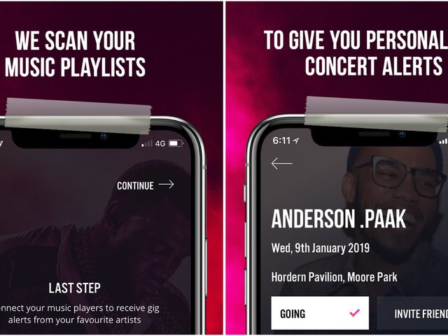 Aussie Concert Tracking App Whatslively Launches Version 2.0