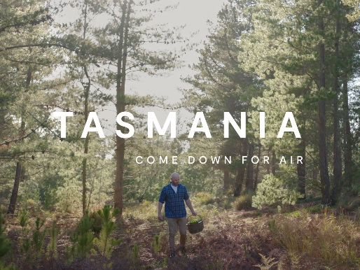 Tourism Tasmania recommences marketing interstate with 'Come Down For Air'
