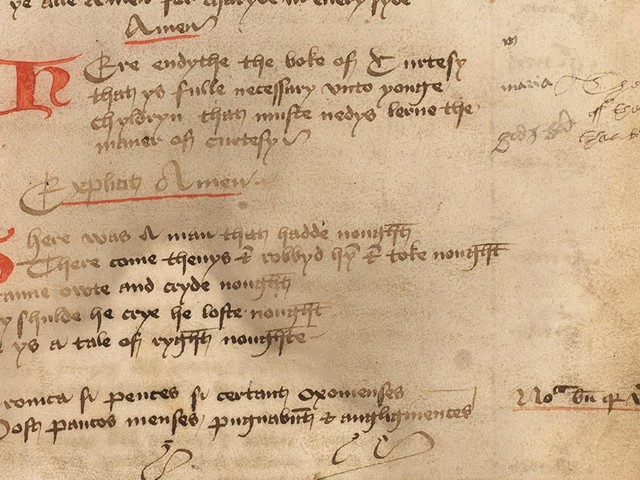 500-year-old manners book advises kids to 'pyke notte thy nostrellys' - CNET