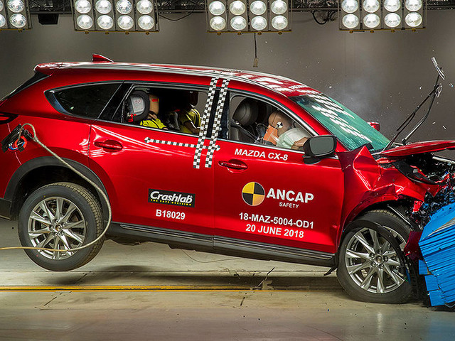 Mazda CX-8 and Volvo XC40 awarded five stars from ANCAP