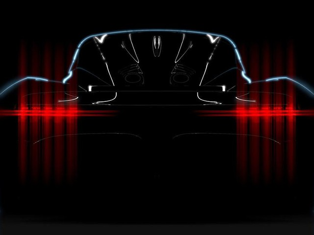 Aston Martin Project 003 hypercar teased again, debuts in 2021 - Roadshow