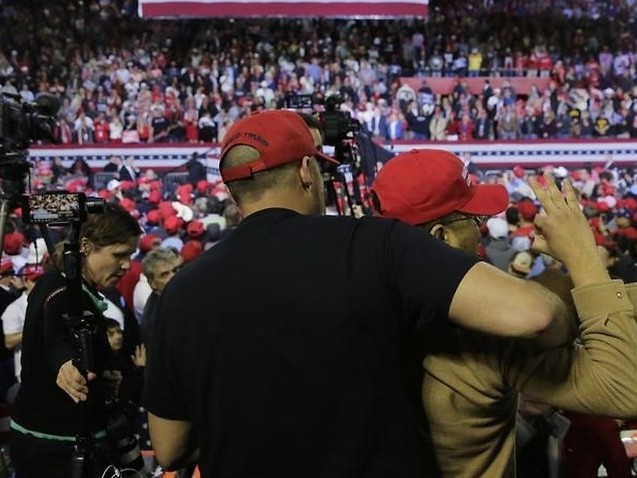 BBC asks for security review after cameraman allegedly attacked at Trump rally