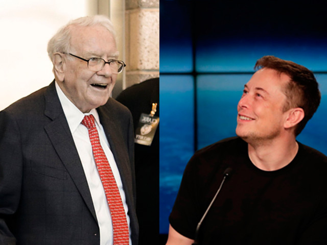 Warren Buffett and Elon Musk are now fighting over candies