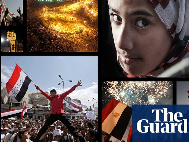 How the Arab spring unfolded – visualising how the protests spread