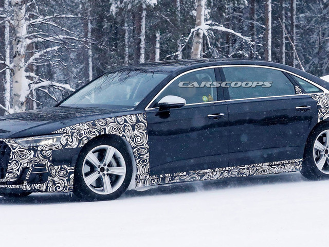 Possible Audi A8 Horch Spotted As Brand Aims To Battle The Mercedes-Maybach S-Class