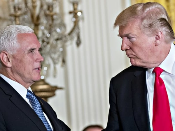 Mike Pence likens Donald Trump to Martin Luther King jnr in border wall stalemate
