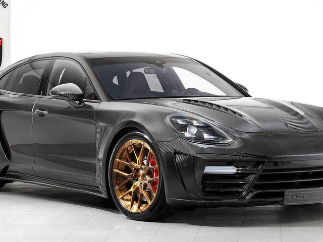 TopCar Brings Exclusivity With Panamera GTR Carbon Edition 1/3