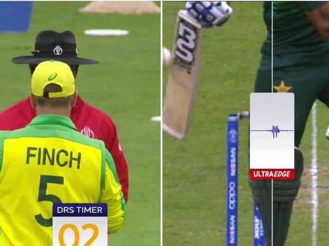 Cricket World Cup 2019: Aaron Finch's last gasp review turns match Australia's way
