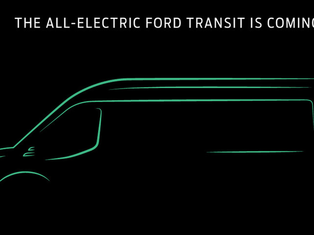 Ford Will Unveil The All-Electric Transit In November