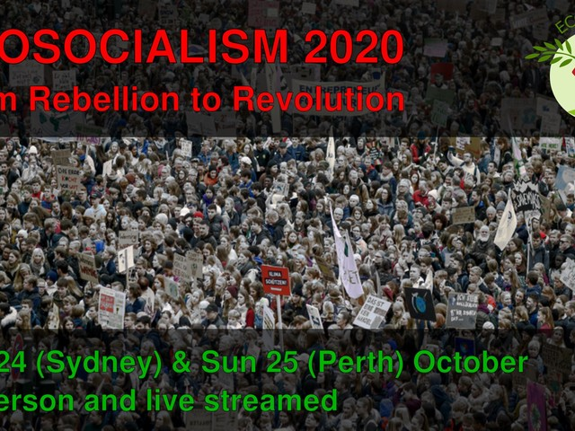 Ecosocialism 2020: From rebellion to revolution