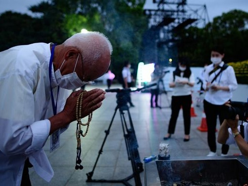 Hiroshima: Dwindling band of survivors marks 75th anniversary of the atomic bomb attack
