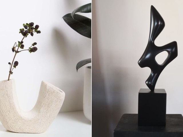 These Stunning Decor Sculptures Will Make Your Space That Much More Elegant