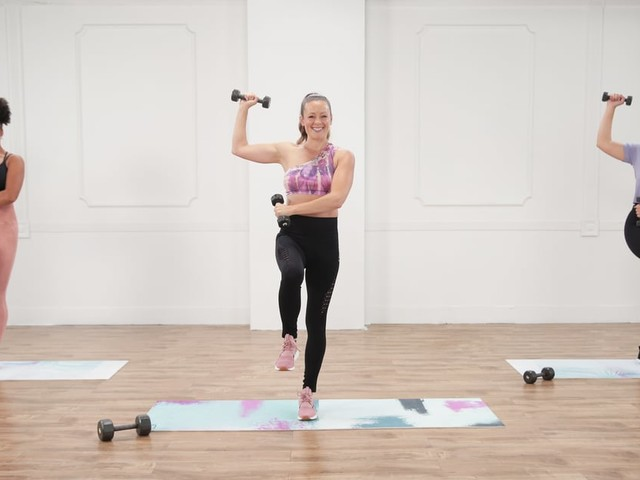 Sculpt and Strengthen Your Arms and Abs With This 30-Minute Workout From Anna Renderer