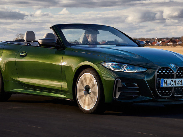 Check Out Every Inch Of The New 2021 BMW 4-Series Convertible