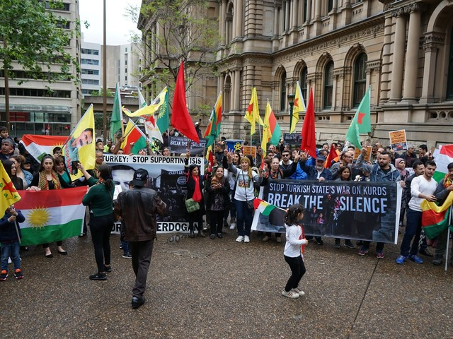 Sydney rallies for Rojava