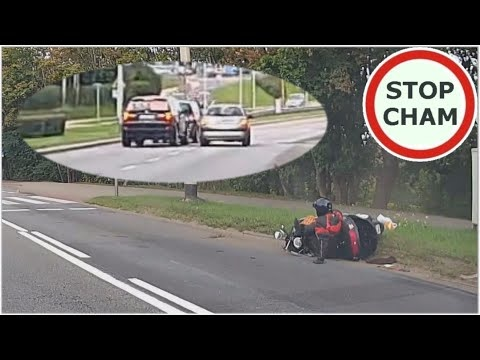 Reckless BMW X5 Hits Scooter Rider, Tries To Flee But Is Stopped By Other Drivers
