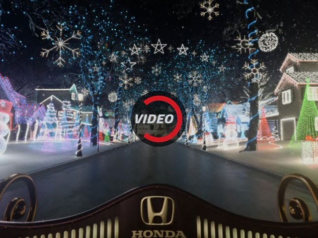 Honda Helps Sick Kids With Virtual Christmas Sleigh Ride