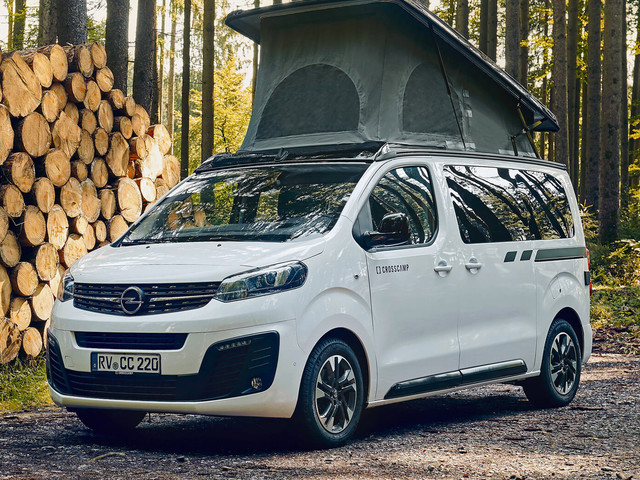 2021 Opel Zafira Life Crosscamp Lite Camper Van Has Up To Three Beds, Clever Solutions