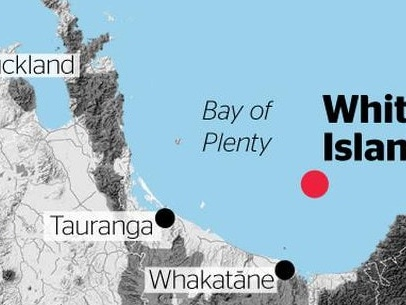 VIOLENT ERUPTION: Fears as volcano explodes on New Zealand island